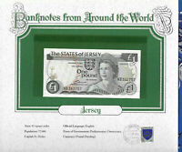 *World Banknotes Jersey 1 Pound 1976 AUNC P 11a KB362757