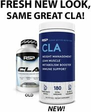 RSP CLA LARGE 180ct Conjugated Linoleic Acid Reduce BODY FAT WEIGHT LOSS 04/2023