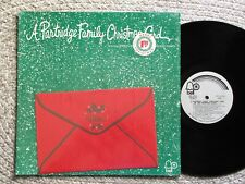 A  PARTRIDGE FAMILY Christmas Card *1971 Vinyl Bell LP In Shrink With Card*