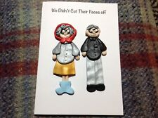 greetings card League Of Gentlemen Tubbs Edward Any Occasion Birthday Handmade