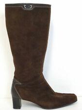 GABOR * Stiefel Gr. DE 40,5 (7) Braun Damen Leder Boots Schuhe Leather Shoes