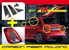 Abarth Fiat 500 595 695 Fibra di Carbonio Montanti Fanali  Carbon Fiber Mold KIT