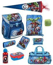 Avengers Schulranzen 10tlg. Set Ranzen Sporttasche Schultüte Schulanfang Junge