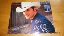 Brad Paisley Signed 8x10 Autographed With COA Country Music Singer