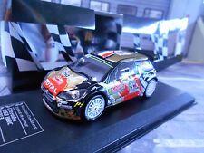 Citroen ds3 WRC Rally de Monte Carlo 2015 #18 Chardonnet BRM DCC Ixo 1:43
