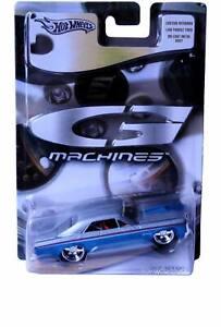 Hot Wheels G Machines  '67 GTO Pontiac Silver