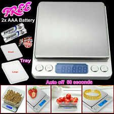 Kitchen Weighing Scales Digital Electronic Pocket LCD Food Jewellery 0.01g-500g