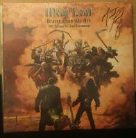 Meat Loaf neue LP Braver Than We Are original Autogramm signiert signed Vinyl