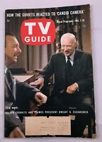 1961 TV Guide October 7 Eisenhower Shirley Booth Allen Funt 77 Sunset Strip PITT
