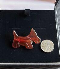 Vintage Phildar Scottie Dog Brooch. Lovely Condition.