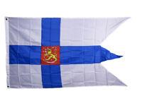 3x5 Finland War Naval Ensign Flag 3'x5' Banner Brass Grommets