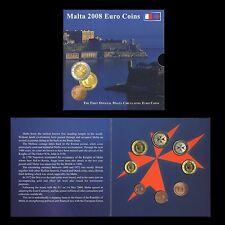 MALTA 2008 - SERIE DIVISIONALE MONETE EURO MALTA 2008 - FDC