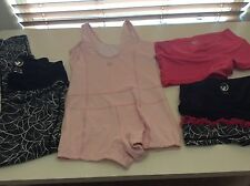 4 PCS! LIMEAPPLE SPORTS DRY WICK MIXED LOT CLOTHING! GIRLS 10-12! MUST SEE!!!