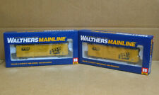 Walthers 910-2029 & 910-2030 Ho Pair C&O 50' Insulated Boxcar #402014 & #403136