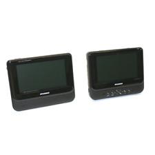 """Sylvania SDVD8747 7"""" Dual Screen Portable DVD Player"""