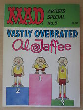 MAD Artists Special No.5 Vastly Overrated Al Jaffee