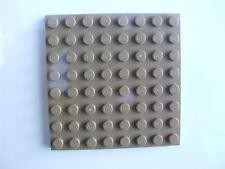 Una piastra Tan LEGO (Taglia 8x8) - 4570111 (parti e pezzi)