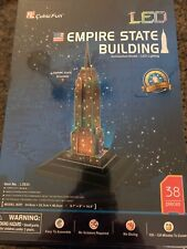 3D LED Puzzle Empire State Building - NEW 38 Pieces