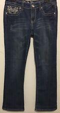 La Idol Women's Jeans Size 9 Blue Boot Cut