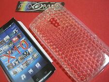 Custodia Cover Per SONY XPERIA X10  Silicone Gel Trasparente