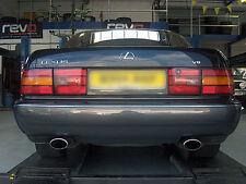 Custom Built Lexus LS400 Stainless Cat-Back Dual Exit Exhaust System