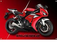 HONDA CBR FIREBLADE MOTORCYCLE METAL SIGN