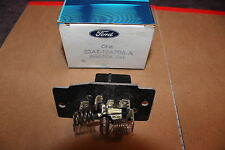 NOS 1981 83 FORD LTD LINCOLN TOWN CAR MARK VI BLOWER MOTOR RESISTOR INTEGRAL A/C