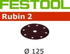 Festool Sanding Discs Rubin2 80G x50 STF D125/90 P80 RU2/50 499095