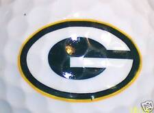 GREEN BAY PACKERS             NFL LOGO GOLF  BALL BALLS