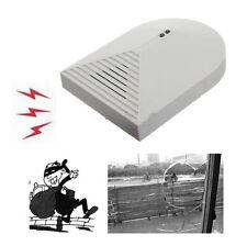 Door Sensor Window Security System Wired Alarm Detector Glass Break Home