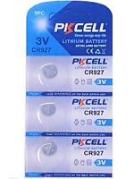 3 x CR927 3V Lithium Knopfzelle 30 mAh ( 1 Blistercard a 3 Batterien) PKCELL