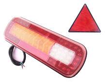 2x LED Heckleuchte dynamische Blinker Richtungsanzeigelampe LKW 2 Dreieck