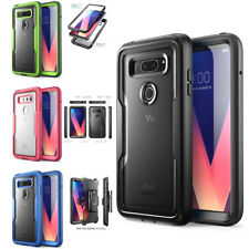 LG V30 Plus Case i-Blason Heavy Duty Protect Clear Shock Reduction Bumper LGV30+