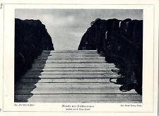Brücke mit Fischernetzen Lichtbild-Studie von A.Renger-Patsch c.1929