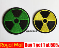 Nuclear Radiation Patch Badge Iron On Sew On