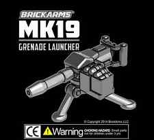 BrickArms MK19 Grenade LAUNCHER for Lego Minifigures NEW Soldier Military Army