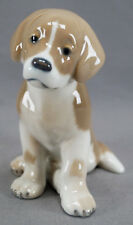 Royal Copenhagen # 439 St Bernard Puppy Dog Porcelain Figurine Circa 1992-1999
