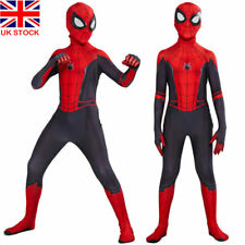 Kids Boys SpiderMan: Far From Home Spiderman Zentai Cosplay Party Costume Outfit