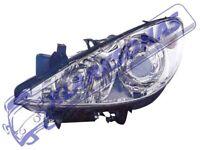 307 2005 - 2007 HEADLIGHT FRONT LAMP HALOGEN TYPE LEFT 620686 FOR PEUGEOT