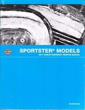 2017 Harley Sportster XL 883 1200 SuperLow 1200T Repair Service Manual 94000384