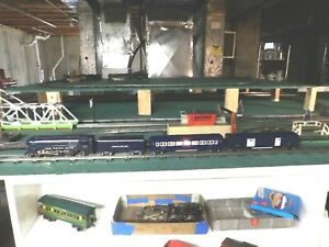 American Flyer O gauge 556 The Royal Blue train set with 494,495,chugger tender