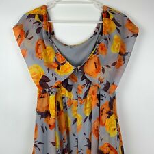 ASOS Soft Floral Maternity Midi Dress Size 12 Medium - Excellent Condition 🤰