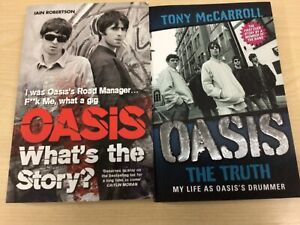 2 x Oasis the Truth & What's the Story Paperback Books Very good condition