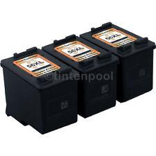 3 Druckerpatronen für HP C6656AE OfficeJet 5605 Z
