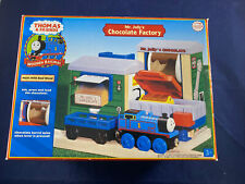 2006 Learning Curve Thomas Train Wooden Mr Jolly's Chocolate Factory! NEW!