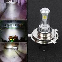 H4 / HS1 12V 40W 8-LED COB 6500K White Motorcycle Hi/Lo Beam Headlight Lamp Bulb