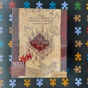 Aquarius Harry Potter Marauders Map Puzzle 1000 Pieces (65284) Brand New Sealed