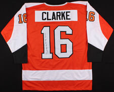 5f81762af Bobby Clarke Signed Flyers Captain s Jersey Inscribed