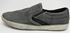 Steve Madden Size 7.5 Black Canvas Loafers New Mens Shoes