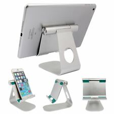 360° Rotatable Aluminum Alloy Desktop Table Stand Holder for iPad Samsung Tablet